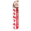 Dental Implants (white and red background) Semi Custom Feather Flag Kit