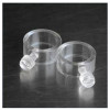 Clear Plastic Flagpole Rings Set of Two