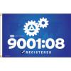 ISO 9001/08 Flag