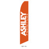 Ashley Furniture Feather Flag orange white