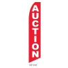 Auction Feather Flag red