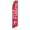 Visitor Parking Feather Flag