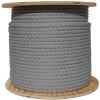 Silver Wire Center Rope Spool