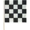 "Black & White Checkered Auto Racing Flag 30"" x 30"""