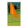 Orange Golf Flag
