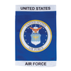 """U.S. Air Force Emblem Garden Flag 12"""" x 18"""""""