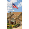 Tapered Sectional Residential Aluminum 20ft Flagpole