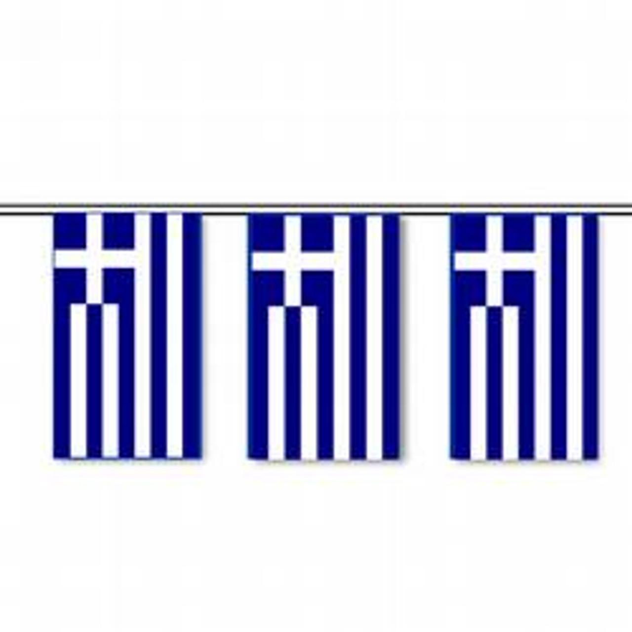 Greece string pennant