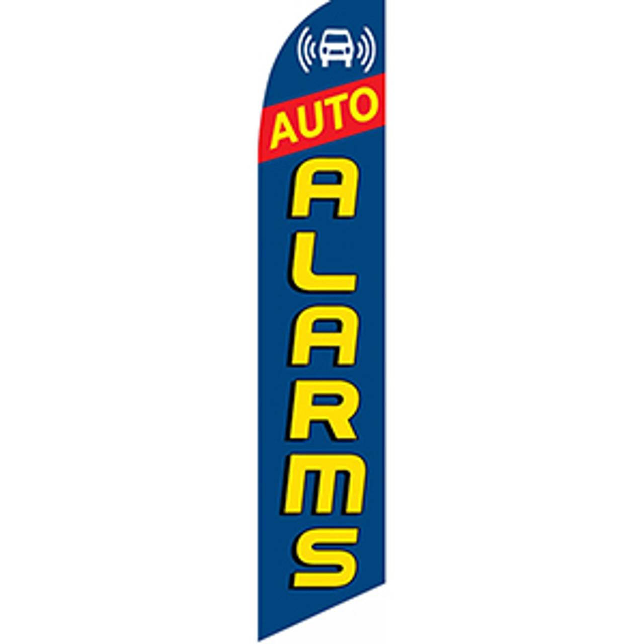 Auto Alarms #2 Feather Flag