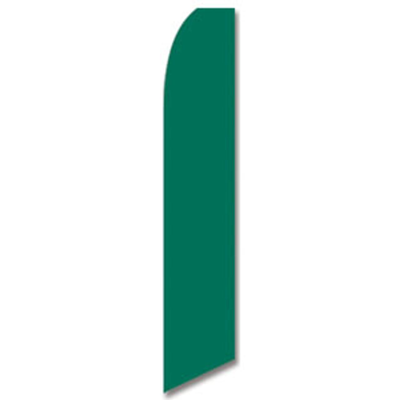 Dark Green Feather Flag