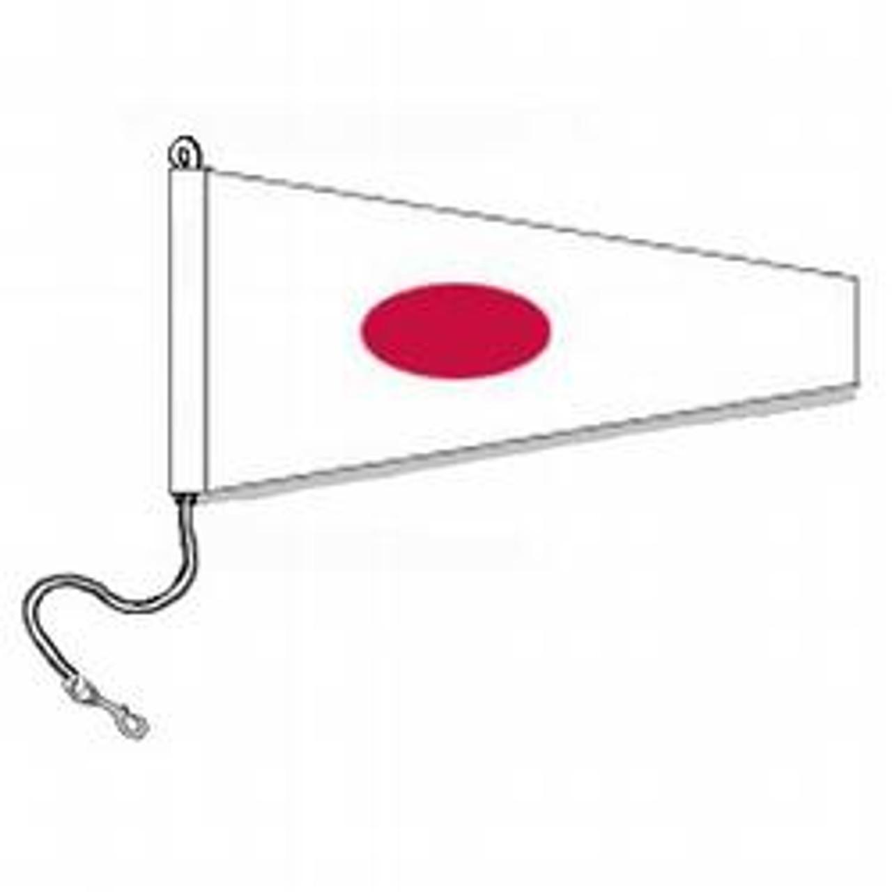 1 International Code Signal Pennants (Rope and Snap Hook)