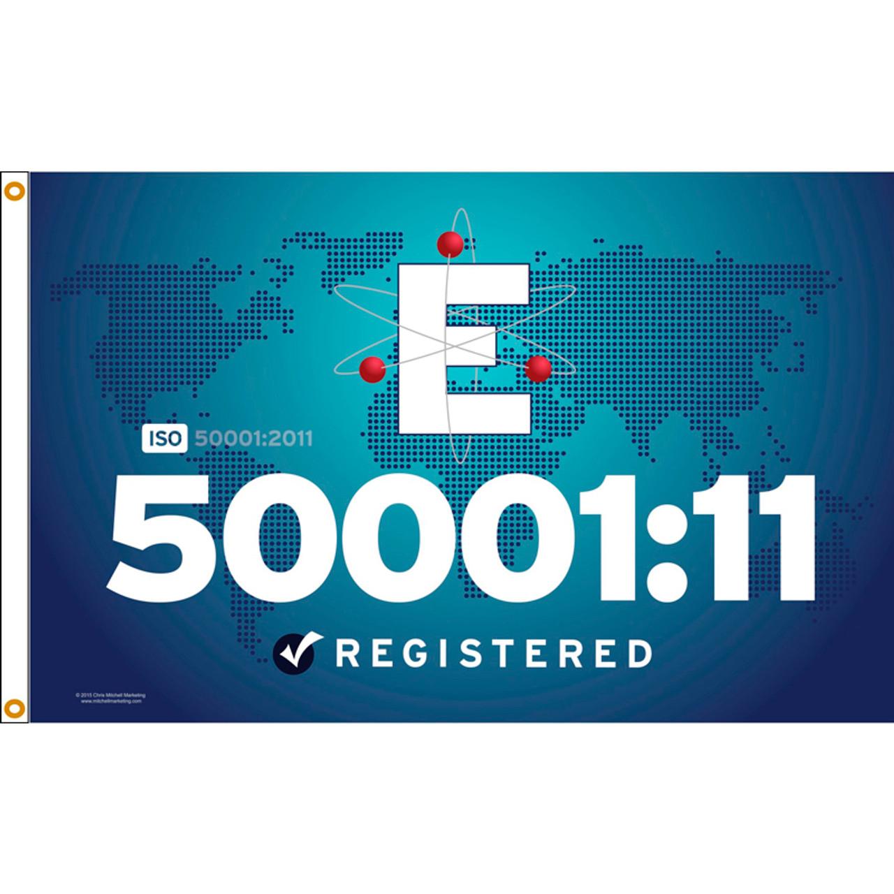 ISO 50001/11 Flag