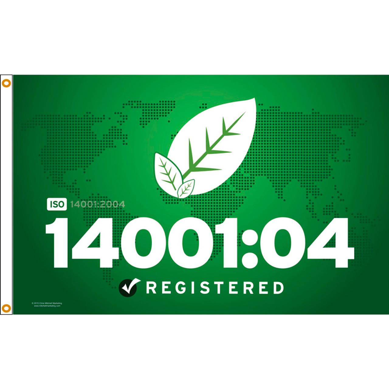 ISO 14001/04 Flag