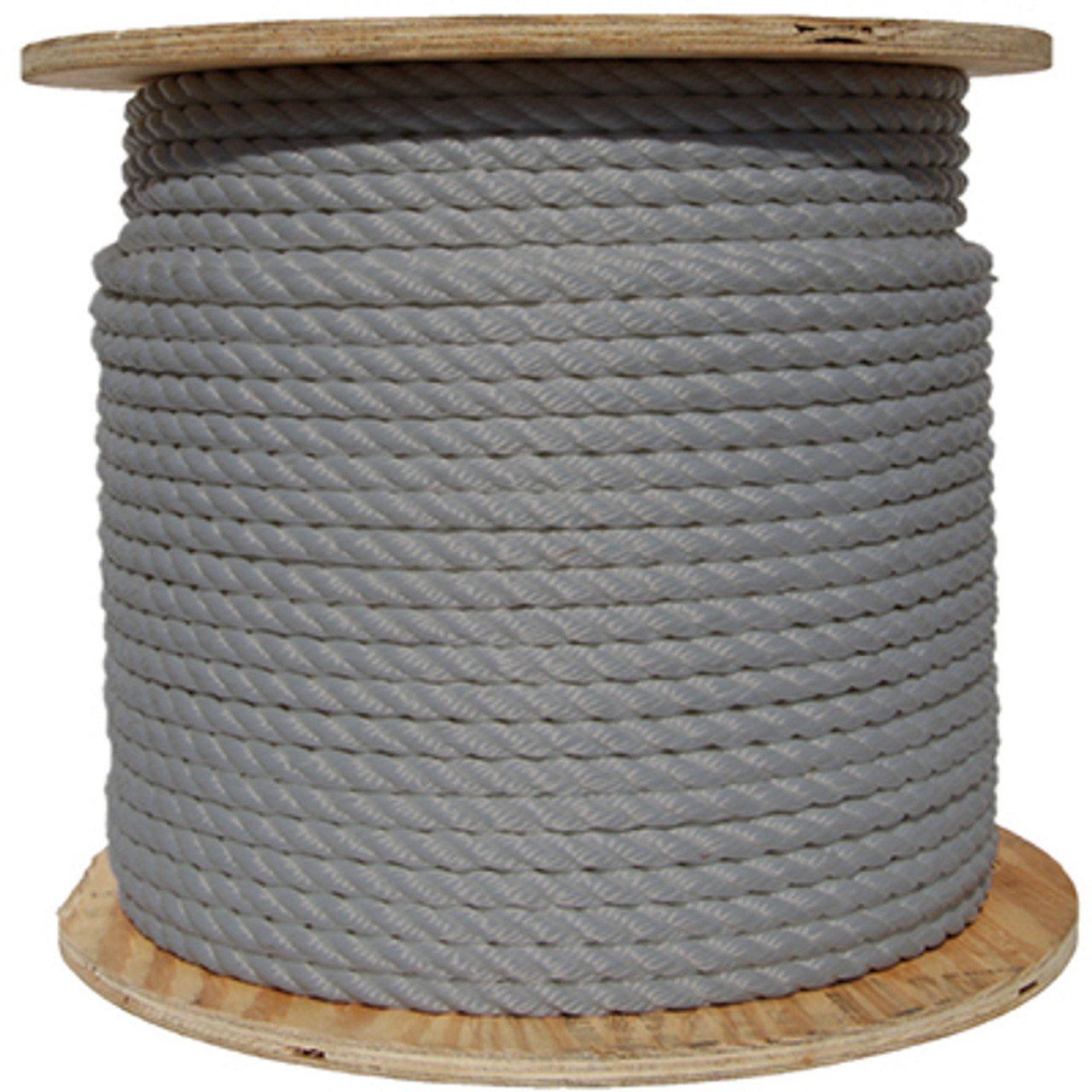 Spool of Gray/Silver Rope