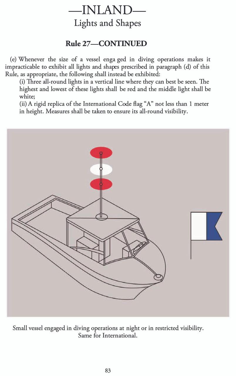 U.S. Coast Guard Navigation Rules and Regulations Handbook - page 83