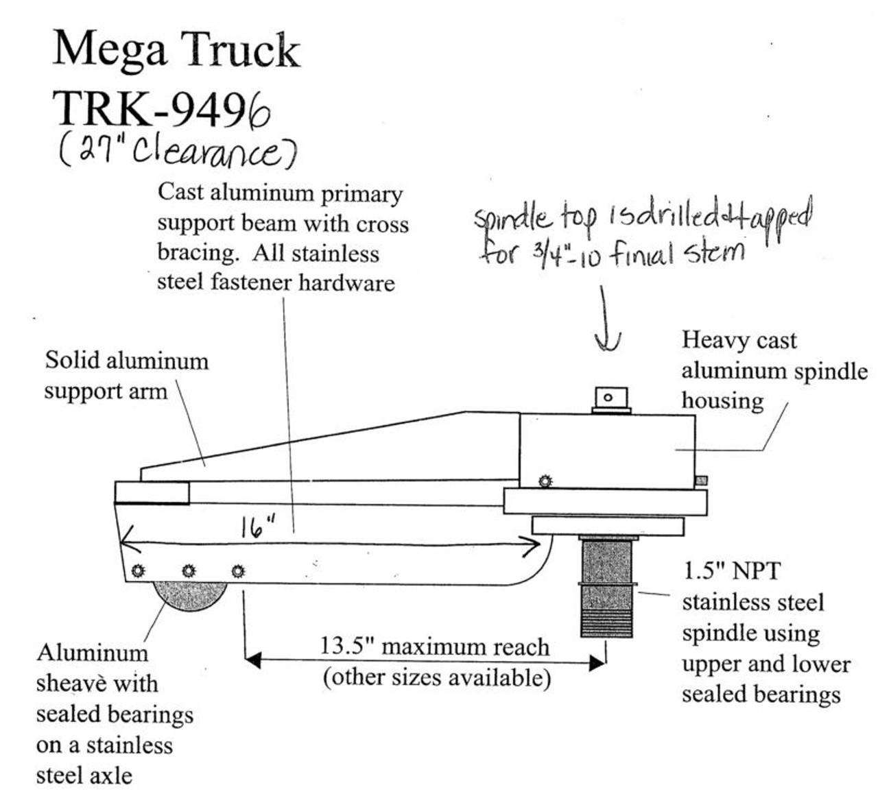 Cell Tower Mega Trucks