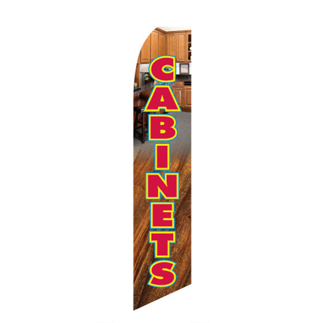 Cabinets Feather Flag
