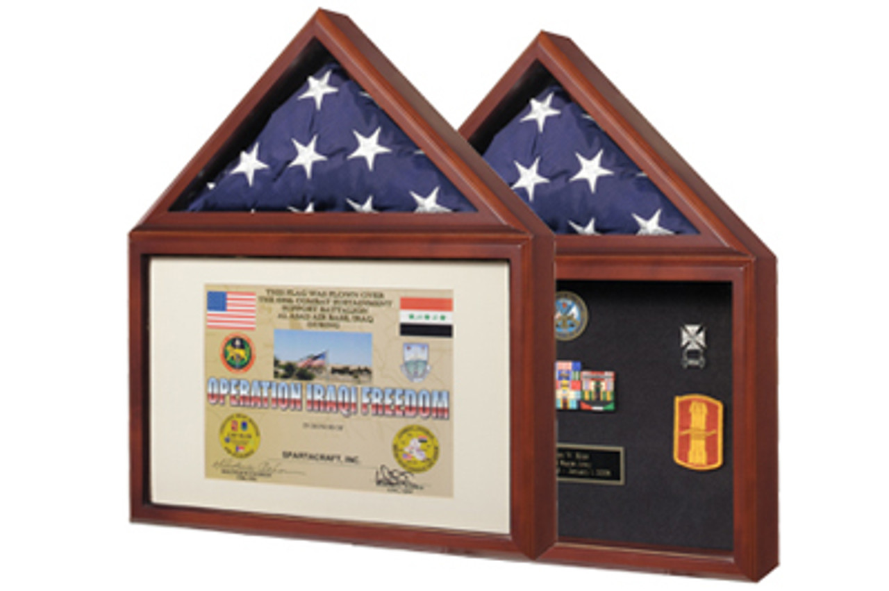 Capitol Flag Case & Certificate Case / Shadowbox