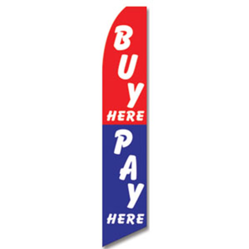 Buy/ Pay Here Feather Flag