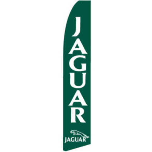 Jaguar dealership feather flag
