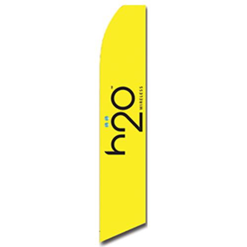 H2O Feather Flag