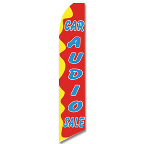 Car Audio Feather Flag