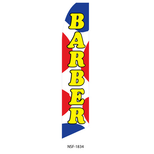 Barber Feather Flag