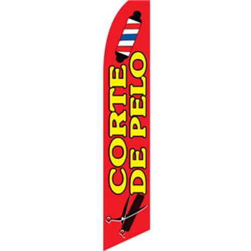 Corte De Pello Feather Flag