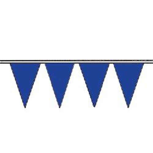 Blue string pennant