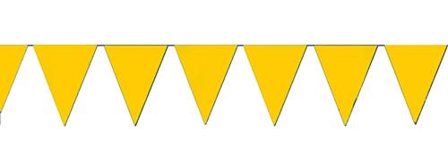 Yellow string pennant