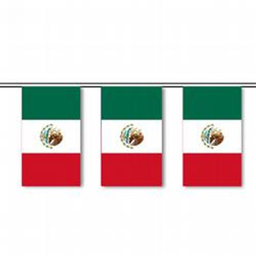 Mexico string pennant