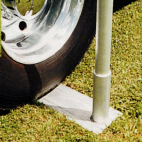 Telescoping Flagpole Aluminum Tire Mount