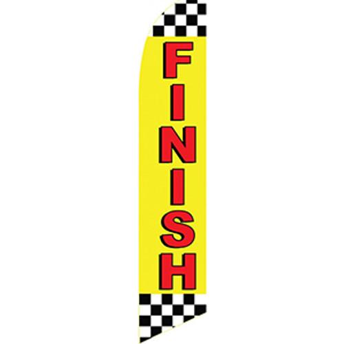 """""""Finish"""" Feather Flag"""