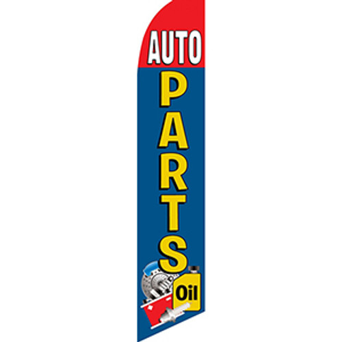 Auto Parts Feather Flag