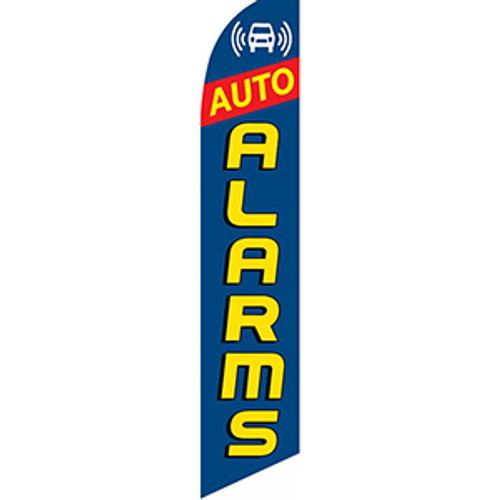 Auto Alarms #2 Feather Flag