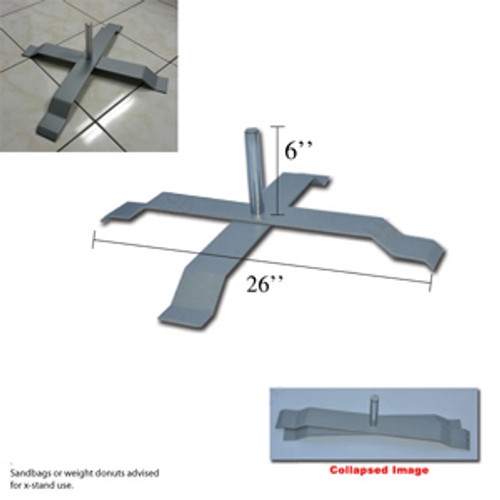 Collapsible X stand