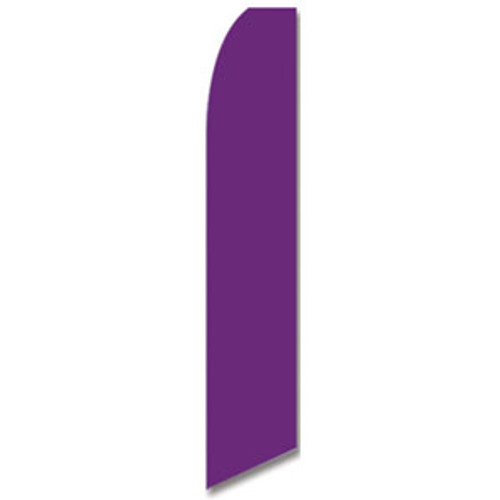 Purple Feather Flag