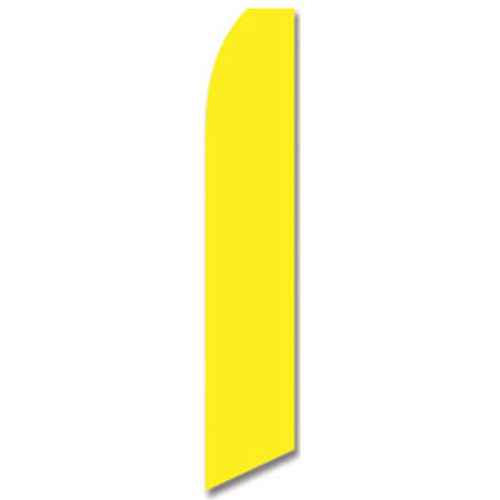 Yellow Feather Flag