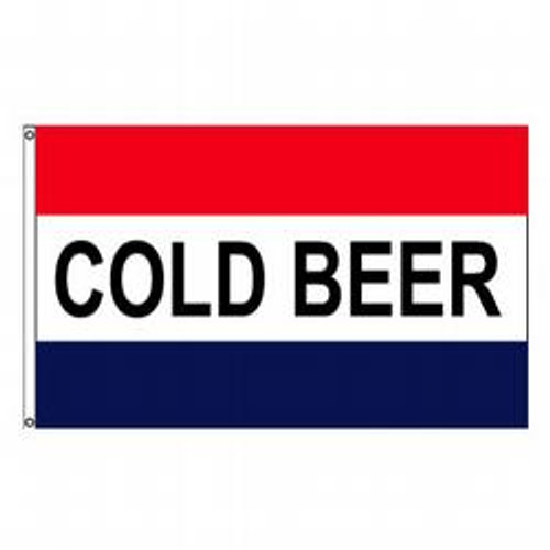 Cold Beer Message Flag