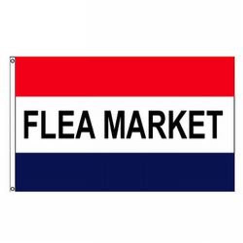 Flea Market Message Flag