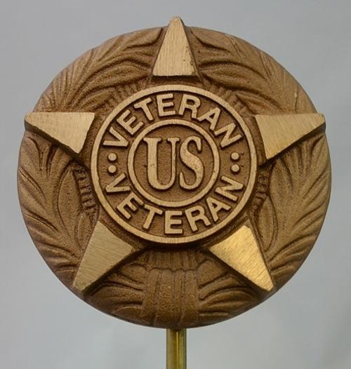 US Veteran Grave Marker---Cast Bronze