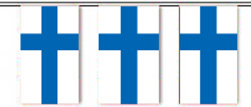 Finland String Pennant