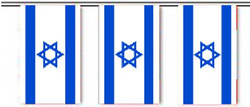 Israel String Pennant