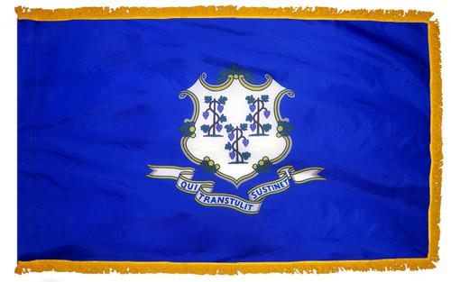 Connecticut Fringed Flag
