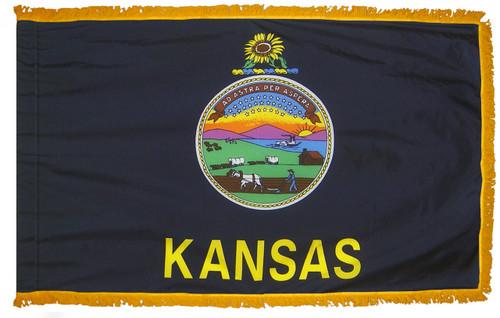 Kansas Fringed Flag