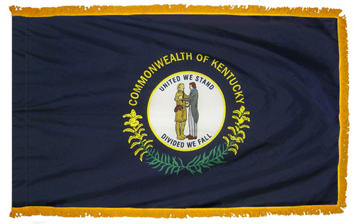 Kentucky Fringed Flag