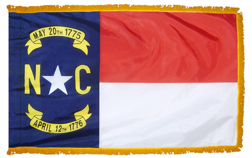 North Carolina York Fringed Flag