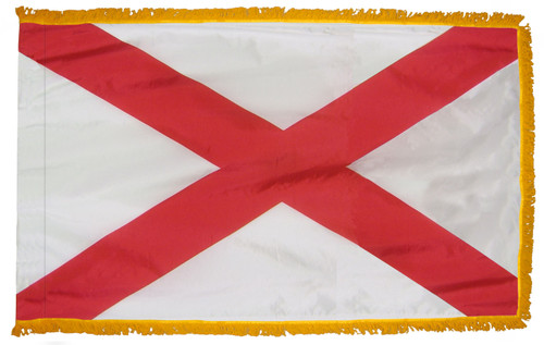 Alabama Fringed Flag