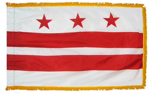 District of Columbia Fringed Flag