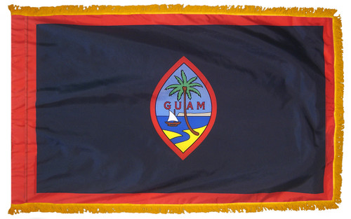 Guam Fringed Flag